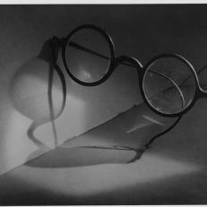 Jaromír Funke, Samota a brýle, ca 1924 © Miloslava Rupešová