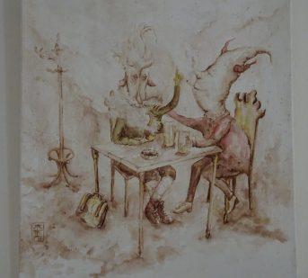 Martin Fryc Vernisaz Vystavy Kreseb Klubu Kresba Malba Grafika I
